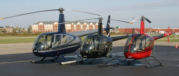 Heliflight of Michigan - Helicopter Fleet