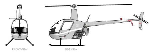 Robinson R22 Betta II Views